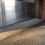 water wall - installed inside garage, topsham